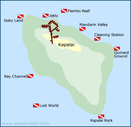 kapalai dive sites